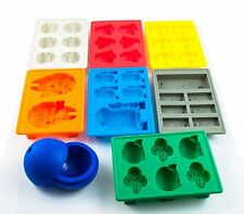 8pcs/set Star Wars Ice TraySilicone Mold Ice Cube Tray Chocolate Fondant