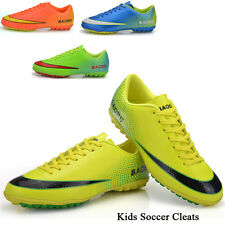 Boy Girl's Soccer Cleats Turf Indoor Kids Soccer Shoes Football Shoes Sneakers