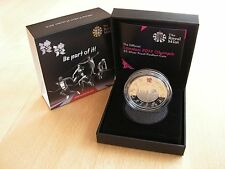 London 2012 £5 Silver Proof Piedfort CoinsOlympics & Paralympic Games:Royal Mint