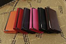 Women Clutch Ladies Street Style PU Leather Purse Coin Card Holder Long Wallet
