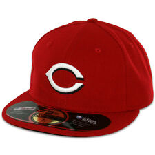 Cincinnati REDS HOME Game Red New Era 59FIFTY Fitted Caps MLB On Field Hats