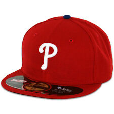 Philadelphia PHILLIES GAME Home Red New Era 59FIFTY Fitted Caps MLB OnField Hats