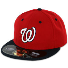 Washington NATIONALS ALTERNATE 2 RedBlue New Era 59FIFTY Fitted Cap OnField Hat