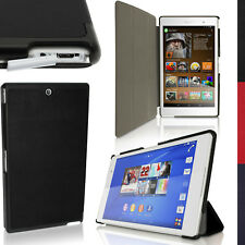 PU Leather Smart Cover for Sony Xperia Z3 Tablet Compact Stand Case + Sleep Wake