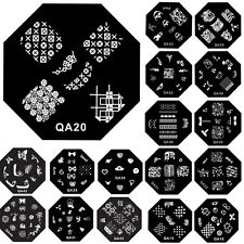 Lady's Hot DIY Manicure Template Nail Art Image Stamp Stamping Plates 60 Designs