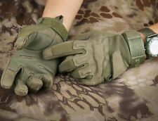 Sports Military Tactical Airsoft Hunting CS Shooting Motorcycle Army Green Glove