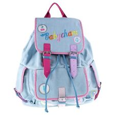 New Womens Babycham Blue Lily Cotton Backpack Backpacks