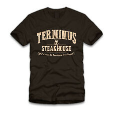 THE WALKING DEAD TERMINUS WE'D LOVE TO HAVE YOU FOR DINNER  T SHIRT S - 3XL