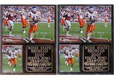 Boise State Broncos 2007 Fiesta Bowl Champions Photo Plaque