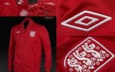 Official Umbro England Red Unsponsored Football Jacket  Mens - RRP £49.99