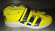 New Mens 13.5 ADIDAS AdiZero Javelin 2.0 Track Field Spikes Shoes Yellow Black