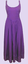 NEW Eaonplus PURPLE Renaissance Embroidered Princess Dress Sizes UK 14 to 32