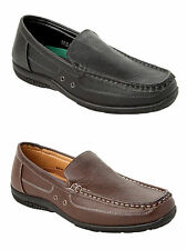 MENS CASUAL FORMAL OFFICE SMART SLIP ON LOAFERS SHOES UK SIZE 6-11