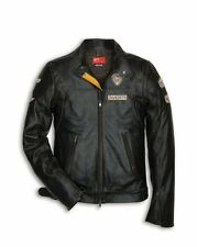Ducati Historical Leather jacket Men's Retro Vintage NEW