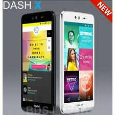 "New BLU Dash X, 4G H+ 5"", 8MP 8GB Android 5.1 Dual Sim Studio Unlocked GSM D010U"