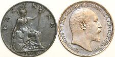 1902 to 1910 Edward VII Bronze Farthing Your Choice of Date