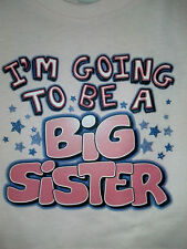 Going 2 B Big Sister Girls Cute Infant Baby ANNOUNCEMENT Toddler Tee ..