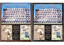Dallas Cowboys Super Bowl XXVIII Champions Emmitt Smith MVP Photo Card Plaque