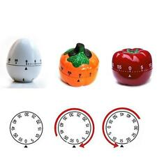Cute 60 Minutes 1 Hour Mechanical Restaurant Kitchen Tool Cook Count Down Timer