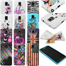 Cell Phone Rubber Soft TPU Cover Case For Samsung Galaxy Note 4 Note IV N9100
