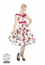 H&R LONDON DARLING FLORAL COCKTAIL 50s PINUP RETRO VINTAGE PUNK PROM PARTY DRESS