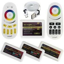 2.4G Family Wifi 4-Zone RGB RGBW WW/CW Single Color LED Striscia Controller HOT