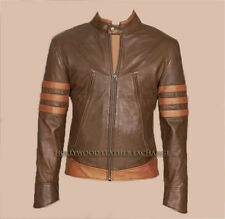 THE WOLVERINE ORIGINS X-MEN LEATHER JACKET