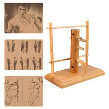 C101 Kung fu Wing Chun Wooden Dummy Trainning Combination Wood Crafts Model