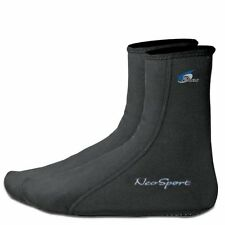 NeoSport 2mm Neoprene Water Socks - Black