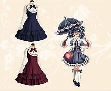 Lolita Princess Vintage Style Party Formal Dress Cosplay Kostüm Dress Customized