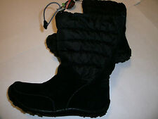 Columbia Minx Moccasin Omni Heat Waterproof woman black boots shoes NEW $120