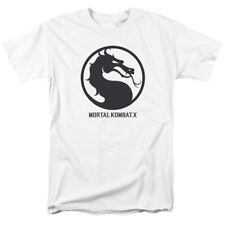 Mortal Kombat X Dragon Seal Game Logo Licensed Adult Shirt S-3XL