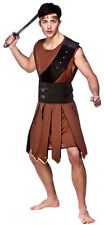 Sparticus Roman Gladiator Warrior Adult Mens Fancy Dress Costume Outfit 3196