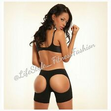 ANN MICHELL LIFTS BUTTOCKS 1045 ( SHORT POWERNET AMALIA ) BLACK