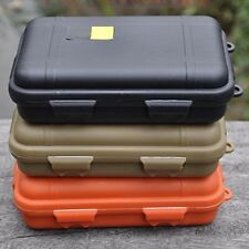 Plastic Waterproof Airtight Case Fly Fishing Container Storage Travel Box Colors