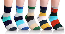 Fashion Mens Socks Multi Color Cotton Contrast Color Casual Sports Socks 1 Pairs