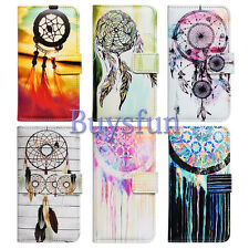 Bcov Colorful Dream Catcher Wallet Leather Cover Case For iPhone 4 5 5C 6 6 PLUS