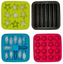 IKEA Ice Cube Tray Star Sticks Flower Fish Shape Design Kitchen Drinks Mould Fun