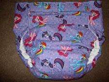 Dependeco All In One cloth adult baby diaper S/M/L/XL  ( my little pony)