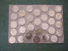 2011 Various (Circulated) Olympics 2012 50p Coins - (All 29 Available)