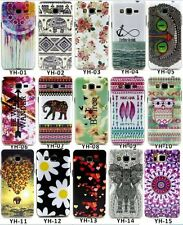 Rubber Soft TPU Paint Back Case Cover For Samsung Galaxy Grand Prime G530H G530