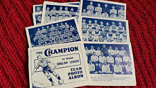 FOOTBALL 1934 CHAMPION 1ST DIVISION PHOTO ALBUM INDIVIDUAL TEAM selection