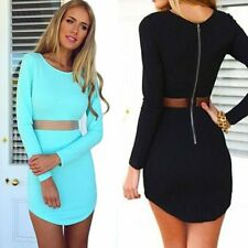 Sexy Women Bandage Bodycon Lace Evening Sexy Party Cocktail MINI Summer Dress