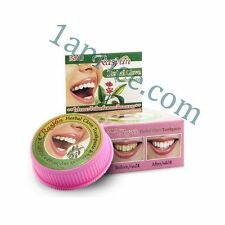 THAI Herbal Herb Toothpaste Anti Bacteria Bad Fresh Breath Thailand NEW