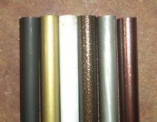 Wrought Iron Designer Rod, Pole / Curtain Rod (4 Feet Long) CHOOSE COLOR