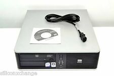 BUSINESS LINE HP SFF DESKTOP DC5700 VERY FAST DUAL CORE 3.4GHZ 4GB RAM 500GB DVD