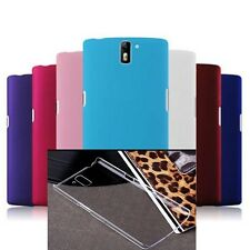 Oneplus One transparent case and multiple color matte finish cases