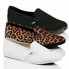 VANS CLASSIC LO PROFILE SLIP ON SKATE GUSSET DRY-LEX FLAT TRAINERS SHOES SIZE