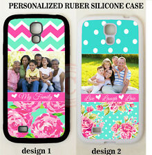 PERSONALIZED CUSTOM IMAGE FAMILY PHOTO ROSE CASE For Samsung Galaxy S6 S7 NOTE 5