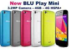 New BLU Life Play Mini - 4.0 HD 3.2MP 4GB Unlocked 2 Dual Sim GSM Android L190U
